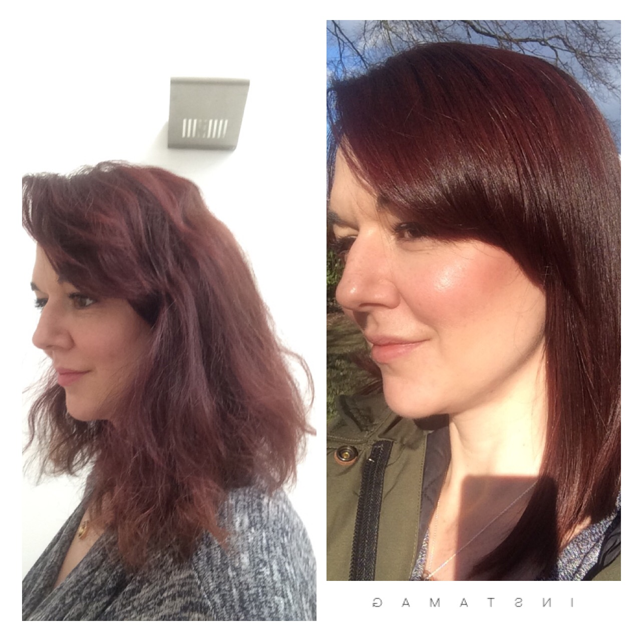 garnier olio permanent hair dye in deep cherry