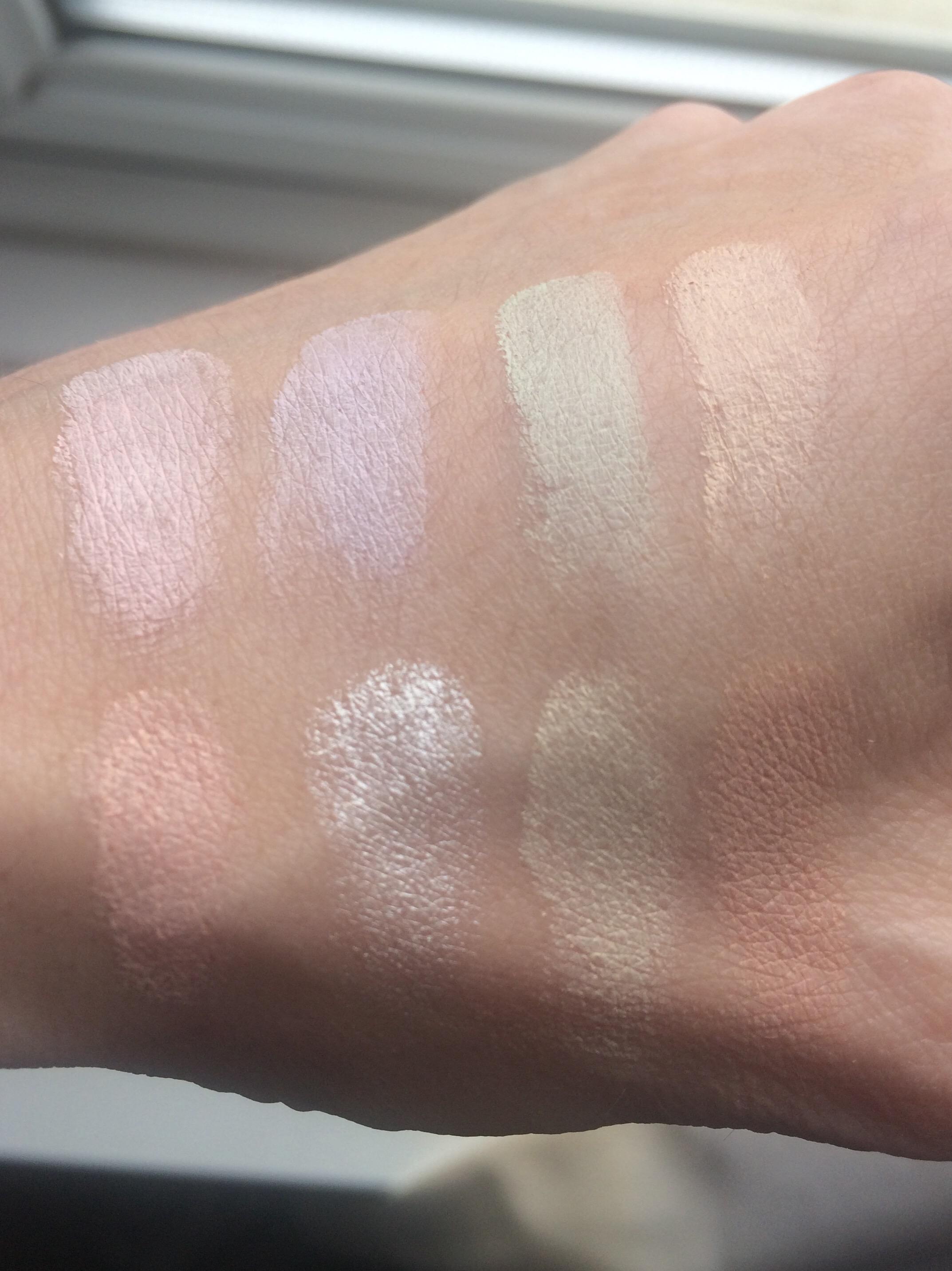 review-makeup-revolution-colour-correction-palette-swatches