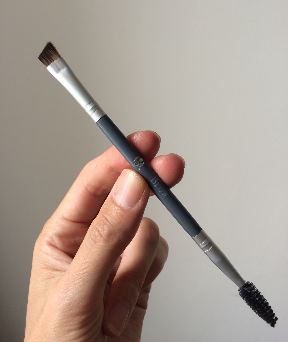 superdrug b double ended brow brush review