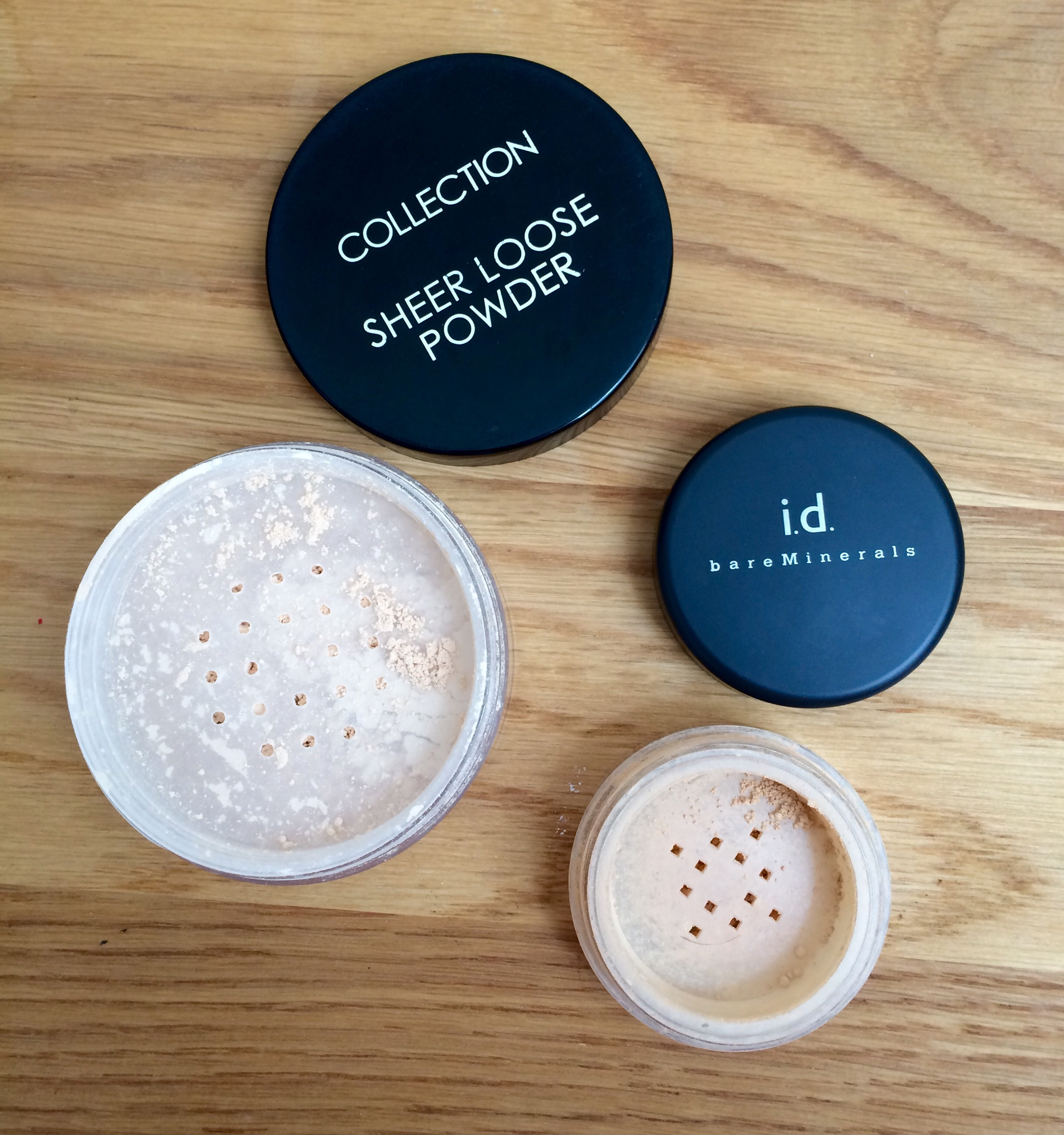 how to use powder makeup tutorial loose powder