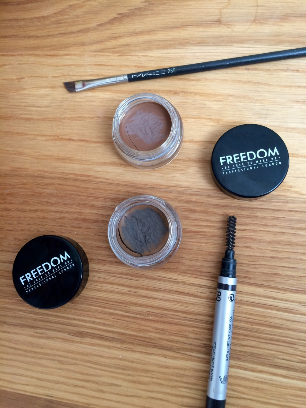 work suitable makeup freedom brow pomade