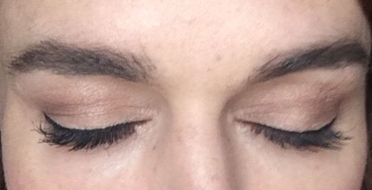 L'Oreal false lash sculpt Tightlining mascara review after one coat