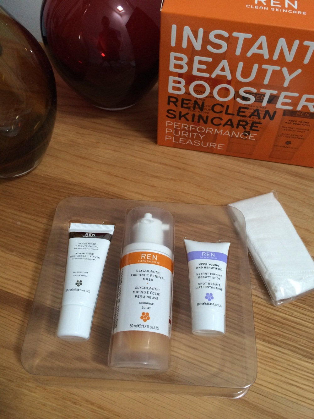 Spend or Save beauty tag Ren Beauty Boost Collection