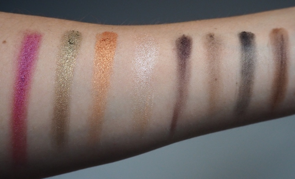 Freedom House of Glam Dolls Exotica Dolls Eyeshadow Swatches