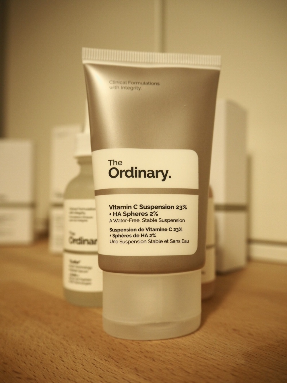 The Ordinary Skincare|Acne and Aging Skin Regime packaging- flat plastic tube