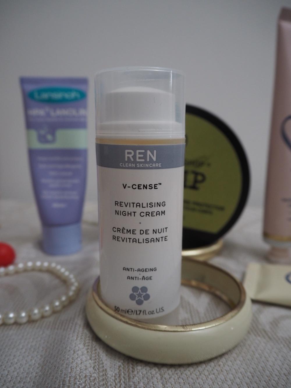 10 Tips For Dry Winter Skin Ren Night Cream pump