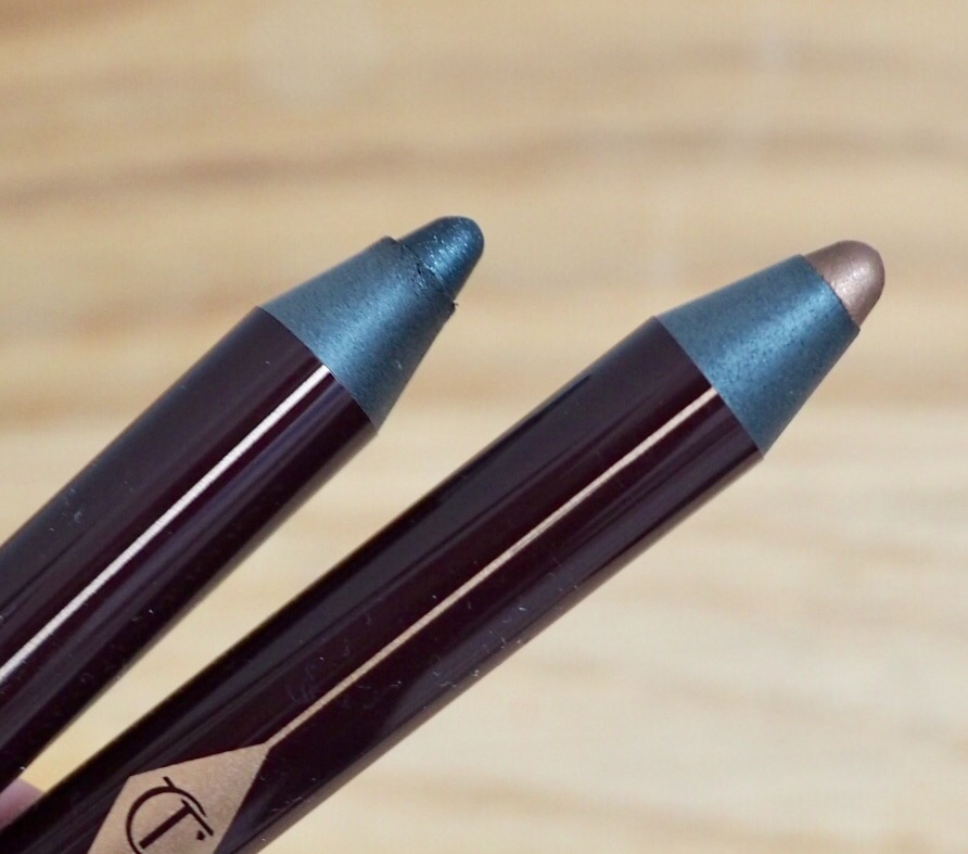 Charlotte Tilbury Colour Chameleon Pencils in Black Diamonds and Amber Haze