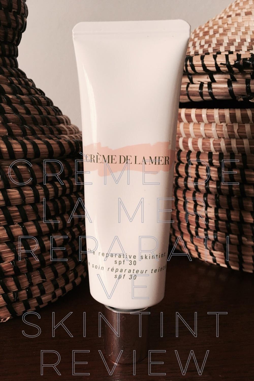 Crème de la Mer Reparative Skintint Review