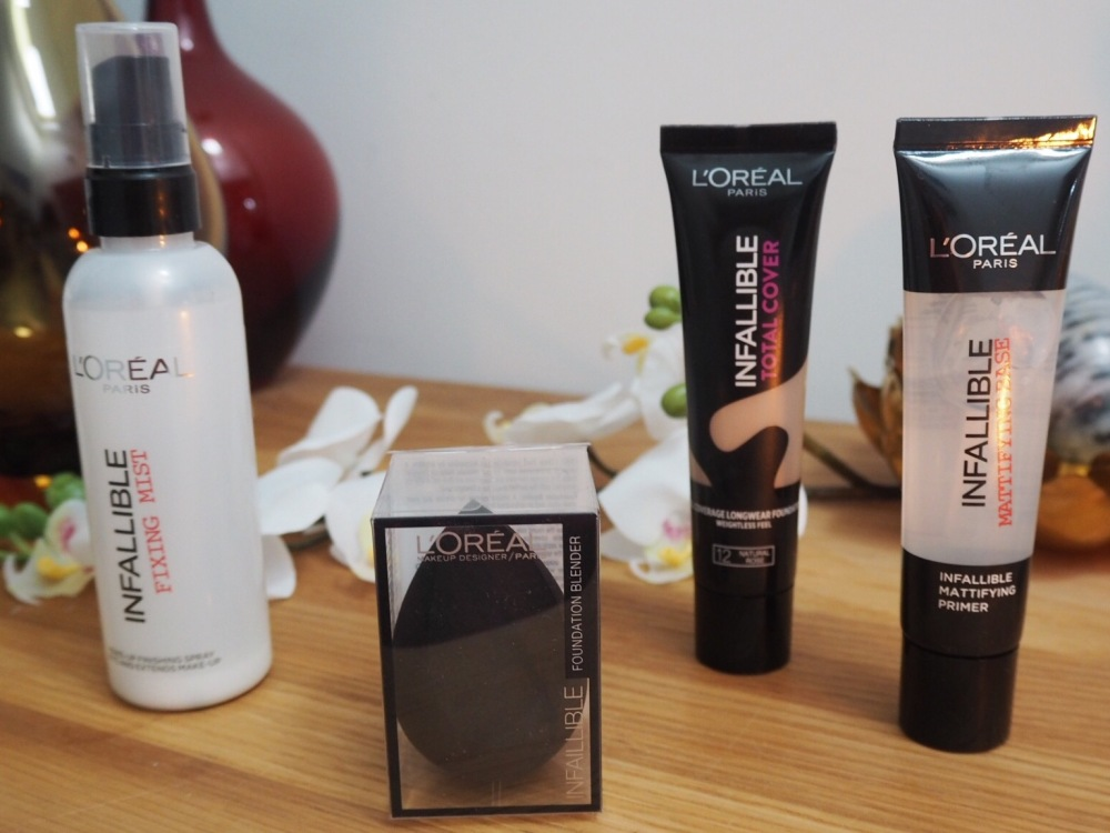 L'Oréal Infallible Total Cover Foundation And other Infallible products