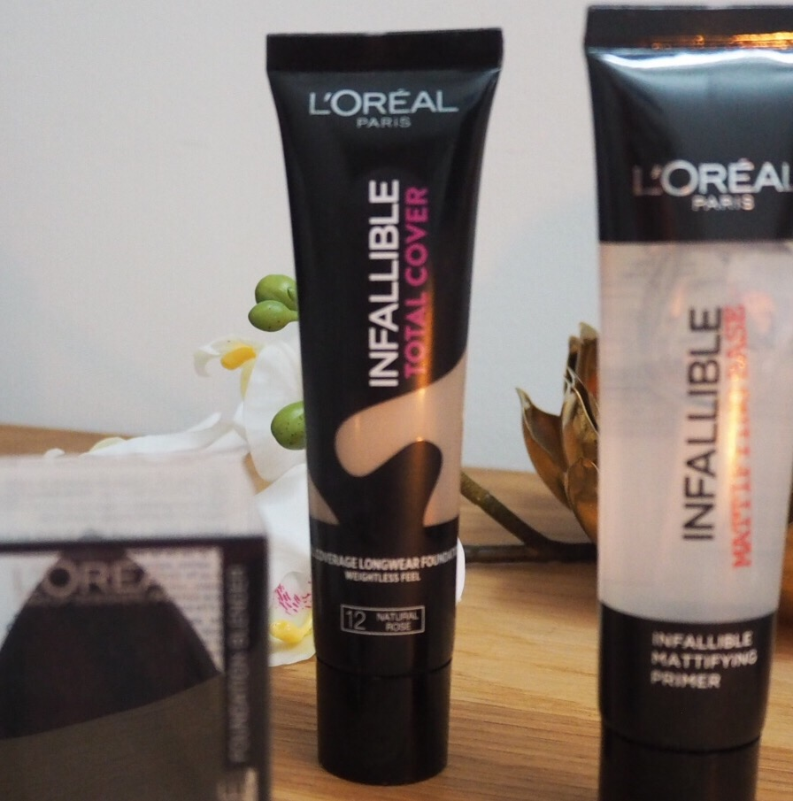 New L'Oreal Infallible Total Cover Foundation Review