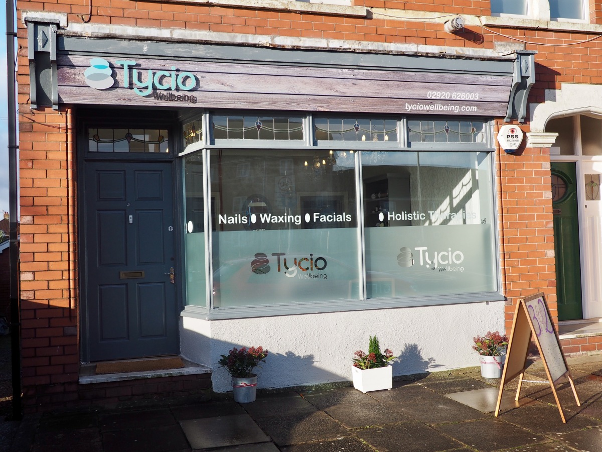 Tycio wellbeing beauty salon and spa cardiff review for W salon and spa
