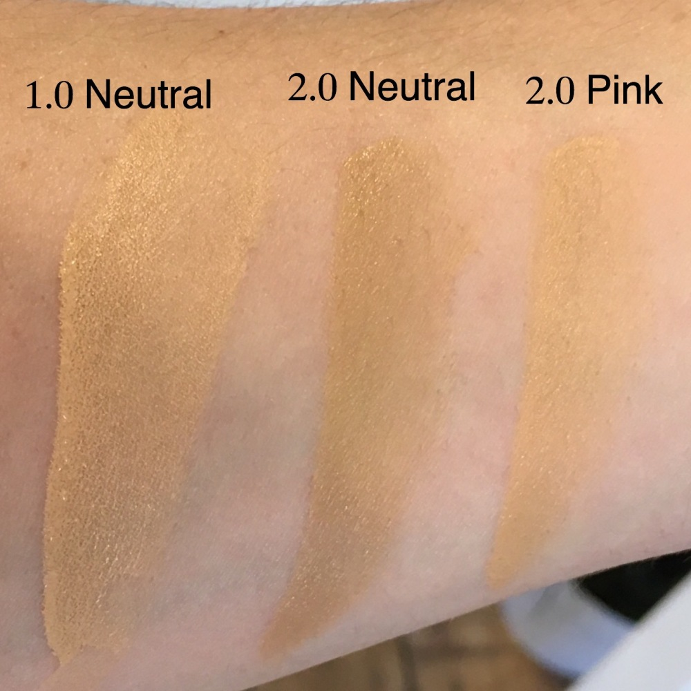 New The Ordinary Colours Foundation Swatches