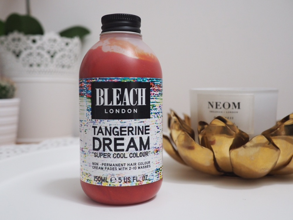 Bleach Super Cool Colours Tangerine on Brown Hair bottle