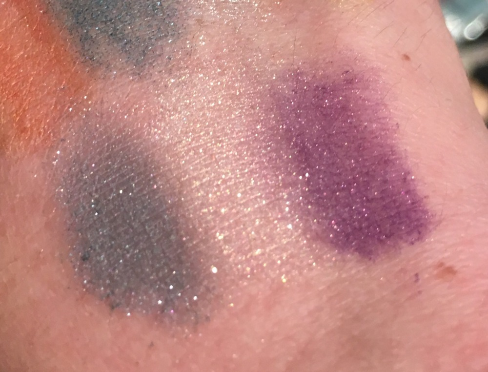 Lush Cosmetics Makeup Top Picks- Eye Powders Swatches