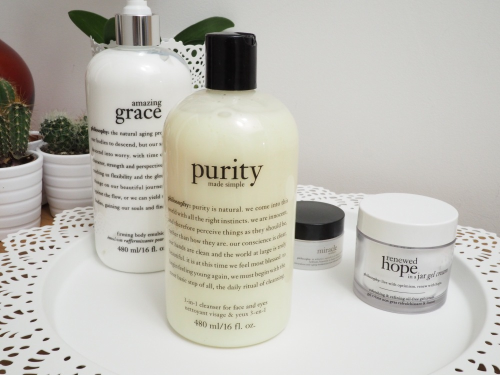 Philosophy Skincare Purity 3 in 1 Face and Eye Cleanser