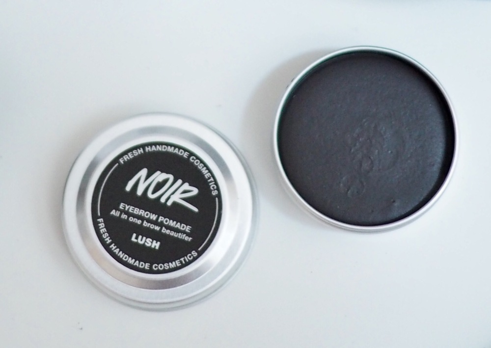 Lush Cosmetics Makeup Top Picks- Noir Brow Pomade