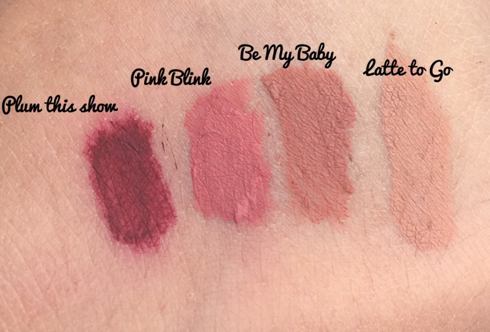 Rimmel Stay Matte Liquid Lipstick Swatches
