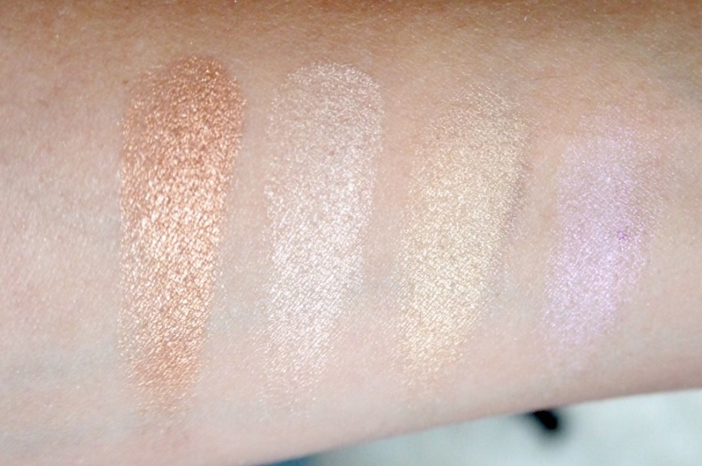 Gosh Strobe'N Glow Highlight Kit 001- Swatches
