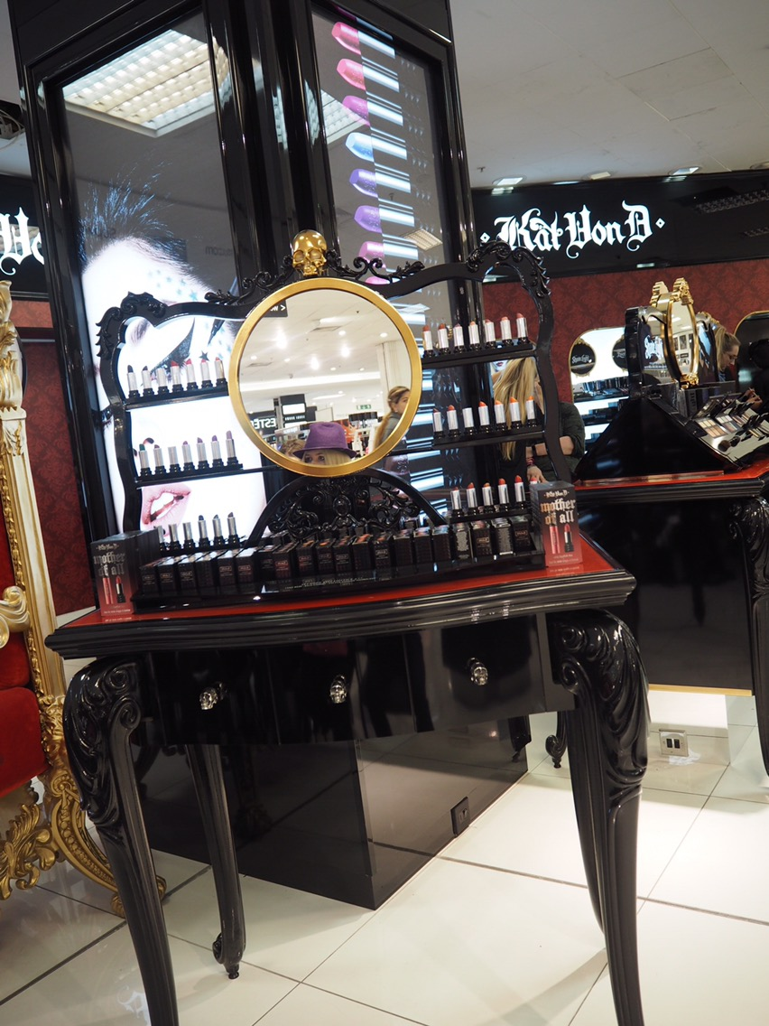 The Gorgeous and Huge Kat Von D Counter