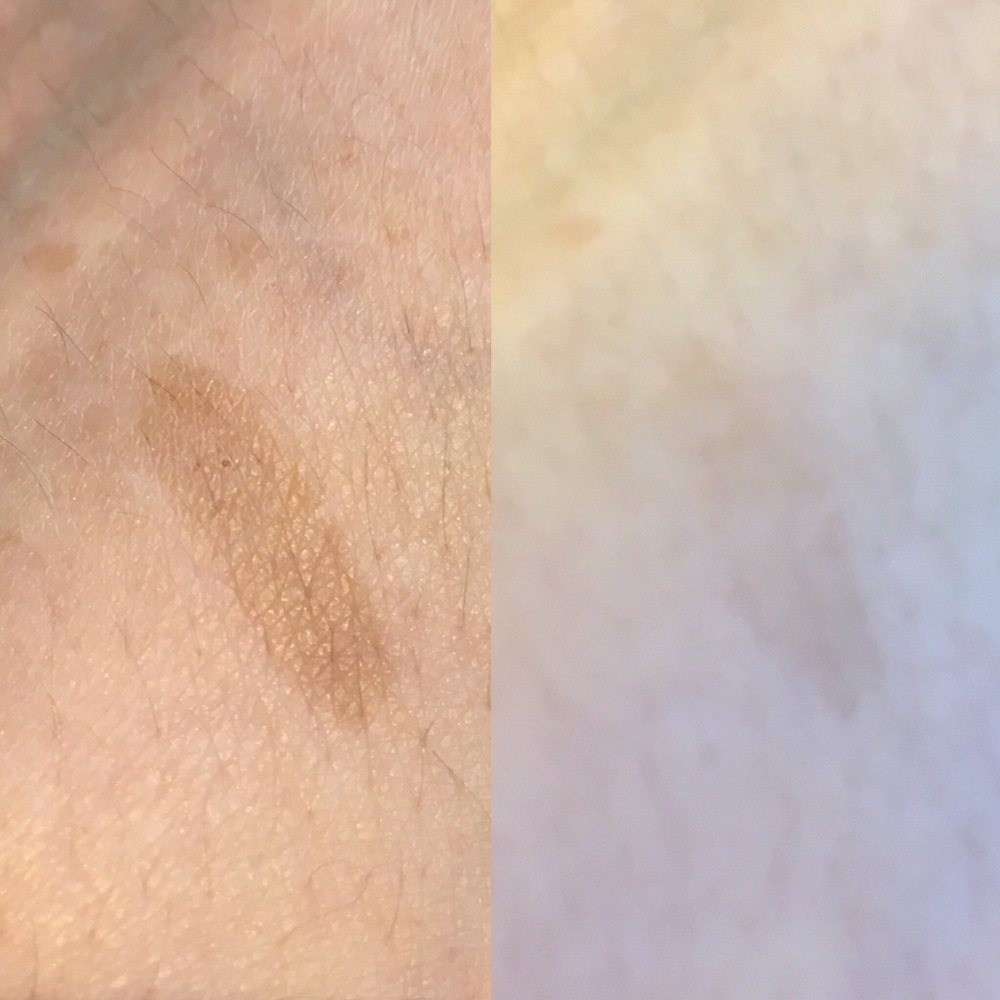 Maybelline Tattoo Brow Peel Off Tint Swatch