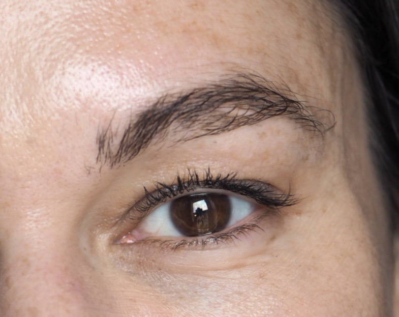Maybelline Tattoo Brow Peel Off Tint- Before