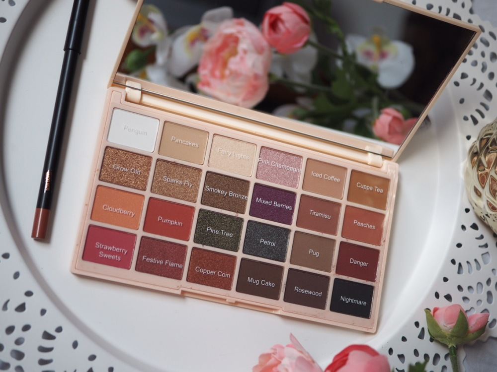 Makeup Revolution Soph X Eyeshadow Palette Shade Names