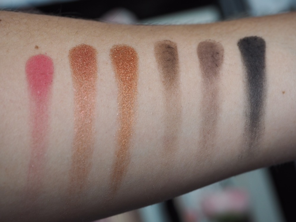 Makeup Revolution Soph X Eyeshadow Palette Swatches Fourth Row